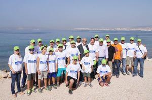 Η ΕΟΑΒ καθάρισε την παραλία του Αγίου Κοσμά