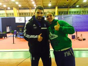 Με δύο αθλητές και μία αθλήτρια στο Ευρωπαϊκό
