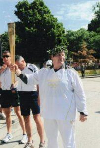 2012. Ολυμπιακή λαμπαδηδρομία,  στην πόλη των Σερρών