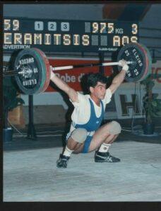 1992 : Κεραμιτσής Αναστάσιος, πρωταθλητής εφήβων.