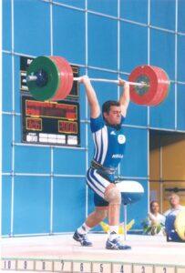 2001 : Γκαρίπης Κωνσταντίνος. 18 φορές πρωταθλητής Ελλάδος, 4ος στα Ευρωπαϊκά εφήβων 1999-2001, 2ος στο παγκόσμιο εφήβων 2001, 2ος στους Μεσογειακούς 2001, συμμετείχε στους Μεσογειακούς 2005 και 2009, 13ος στους Ολυμπιακούς του 2004 και 2ος στο παγκόσμιο πρωτάθλημα φοιτητών.
