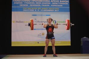 Πανελλήνιο πρωτάθλημα Πολυγύρου 2017: 58κ. Γυναικών ζετέ (video)