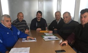 Συνάντηση ΔΣ με τους νέους ομοσπονδιακούς προπονητές