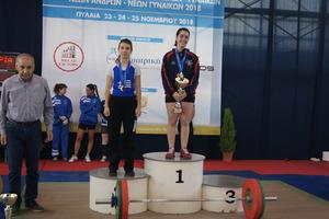 Πανελλήνιο πρωτάθλημα Πυλαία 2018 – Αποτελέσματα 49κ. Γυναικών