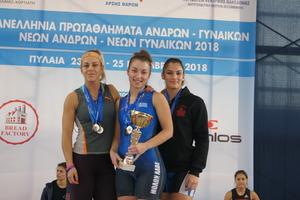 Πανελλήνιο πρωτάθλημα Πυλαία 2018 – Αποτελέσματα 64κ. Γυναικών