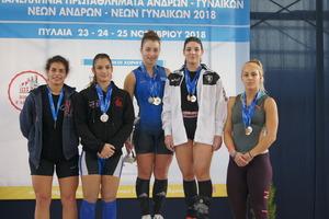 Πανελλήνιο πρωτάθλημα Πυλαία 2018 – Αποτελέσματα 64κ. Νέων Γυναικών