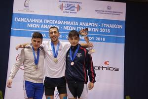 Πανελλήνιο πρωτάθλημα Πυλαία 2018 – Αποτελέσματα 67κ. Ανδρών