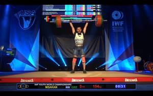 Δύο χάλκινα μετάλλια στο Παγκόσμιο πρωτάθλημα ο Μισακιάν!