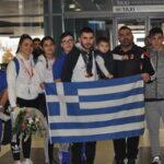 Η υποδοχή της ελληνικής αποστολής από το Λας Βέγκας (video)