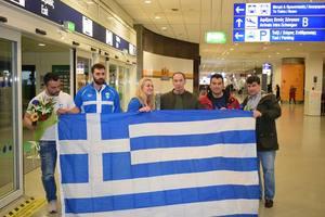 Η υποδοχή της θριαμβευτικής ελληνικής αποστολής