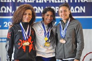 Πανελλήνιο πρωτάθλημα Ιωαννίνων 2019 – Αποτελέσματα 49κ. Γυναικών
