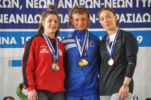 Πανελλήνιο πρωτάθλημα Ιωαννίνων 2019 – Αποτελέσματα 55κ. Νέων Γυναικών