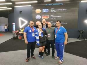 Πρωταθλήτρια Ευρώπης η Κωνσταντινίδη