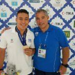 Χρυσό μετάλλιο ο Βαγενάς στο παγκόσμιο πρωτάθλημα νέων άρσης βαρών σε πάγκο
