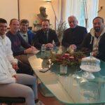 Συνάντηση συνεργασίας με τον Πρόεδρο του Αγίου Κοσμά  Κωνσταντίνο Χαλιορή είχε η ΕΟΑΒ